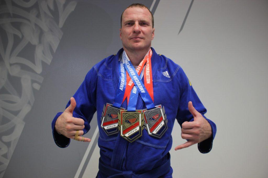 Davor Brazilian Jiu Jitsu Kämpfer